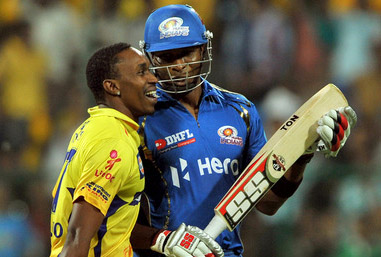 Dwayne Bravo (left) and Kieron Pollard (right) have been dropped for cricketing reasons, says Clive Lloyd. (FP)