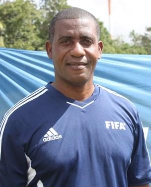FIFA instructor, Lenny Lake