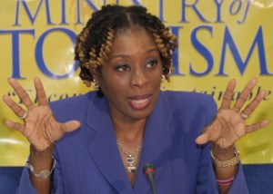 Parliamentary Secretary in the Ministry of Tourism Senator Irene Sandiford-Garner.
