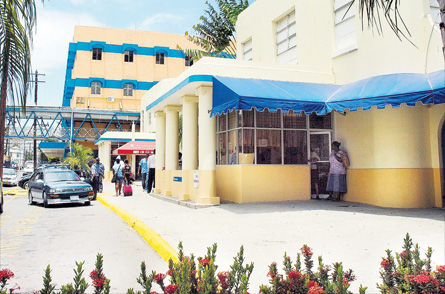 The state-owned Kingston Public Hospital.