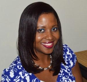 Valedictorian Janine Pierre.