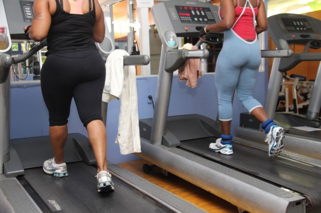 Beckles says a consistent exercise programme is critical to successful weight loss.