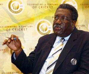 Chairman of selectors Clive Lloyd