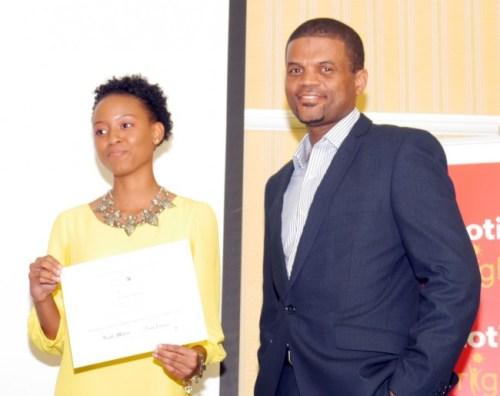Award for Enterprise And Excellence In Branding to Lemon Rush.