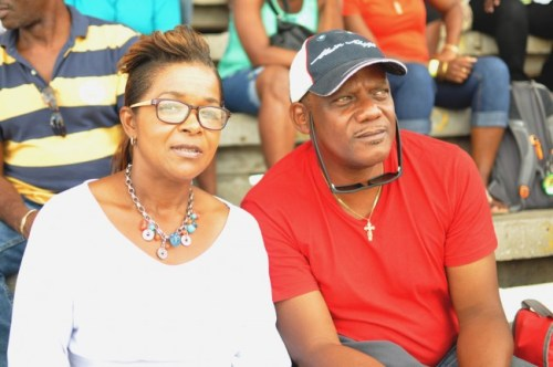 Pat Brathwaite-Lowe and Wayne Lowe would like to see some more entertainment at BSSAC.