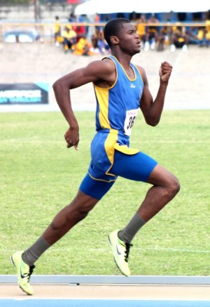Raheem Skinner of Combermere commanded the open boys 5000m.