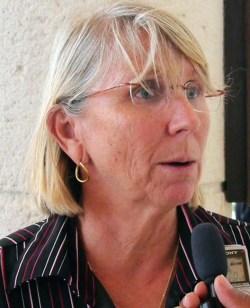 Chairperson of the Revitalization of Bridgetown Initiative Sharon Christie
