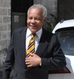 Former Prime Minister Owen Arthur.