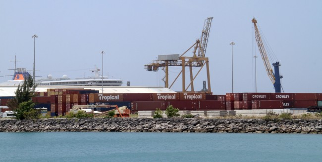 One of the big ideas is to expand the Bridgetown Port by building an island offshore.
