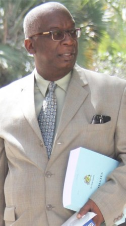 Minister of Education Ronald Jones