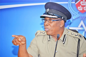 Acting Police Commissioner Stephen Williams.