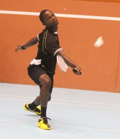 Andre Padmore was in a class of his own as he won the men's single title.