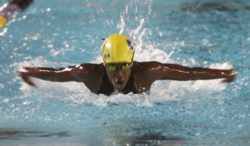 Ashley Weekes won the girls 11-12 50m breaststroke.