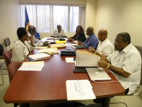 Tribunal members at their February meeting.
