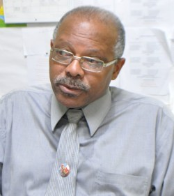 Principal of the Parkinson  Memorial Secondary Jeff Broomes.