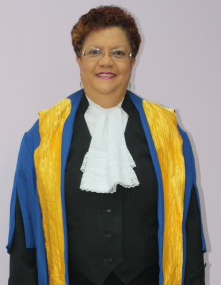 Trinidadian-born Justice Maureen Rajnauth-Lee