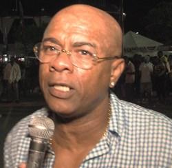 Reggae Festival  co-promoter  Freddie Hill.