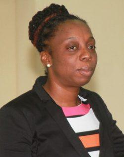 BWU general secretary Toni Moore