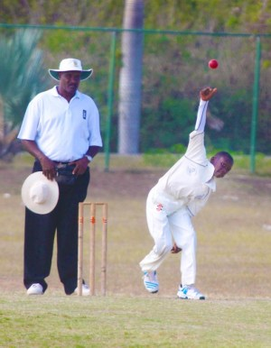 Combermere off-spin bowler Nicholas Austin top scored with 31 and also took two wickets.