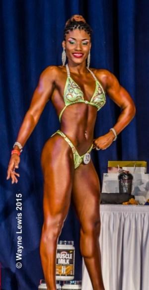 Kara-Lynn Belle won Miss Bridgetown.
