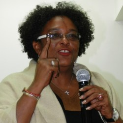 Opposition Leader Mia Mottley