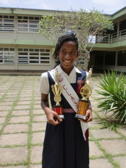 Top girl Kayana Maynard will be heading to Combermere.