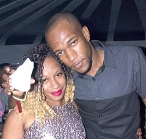 Cort and his fiancée, Shauna Garraway