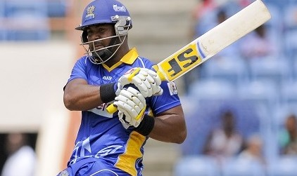 Dwayne Smith was run out by Shivnarine Chanderpaul.