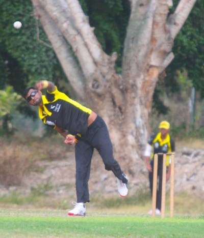 UWI's left-arm wrist spinner Kristopher Ramsaran took three wickets.