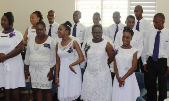 Graduates of Ann Hill School.