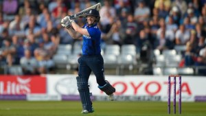 Captain Eoin Morgan's innings paved the way for England's win.