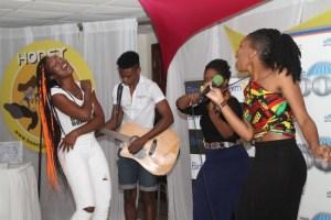 A lively Honey Jam performance.