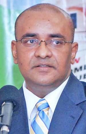 Opposition Leader Bharrat Jadgeo