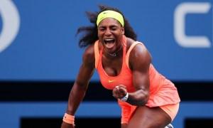 Serena Williams marches on.