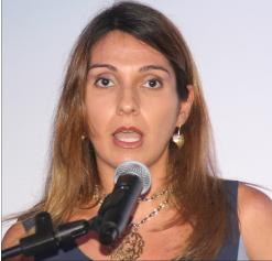 Visa's representative for the Caribbean Sofia Antor.