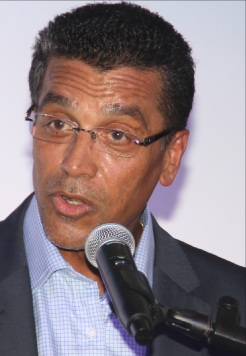 CEO and Managing Director of Republic Bank (Barbados) Limited Ian De Souza.