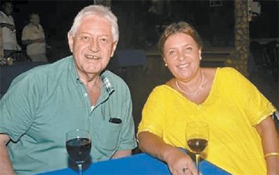 Richard Wheeler and his Trinidadian wife Grace.