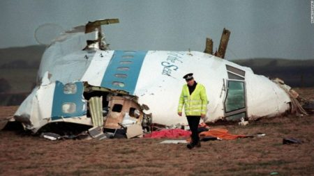 Pan Am Flight 103 exploded over Lockerbie, Scotland killing all 259 Passengers onboard and 11 on the ground.