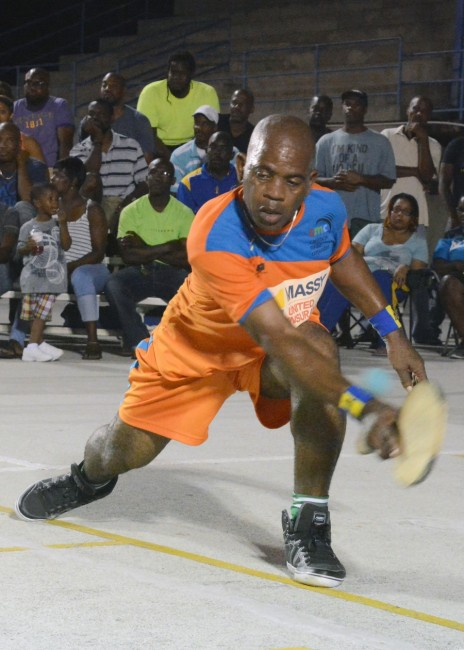 Glen Harris will be in action in the semifinals.