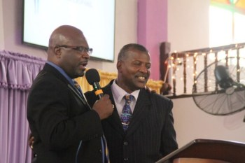 Attorney General Adriel Brathwaite also participated in yesterday's service, which was led by Senator David Durant.