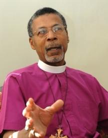 Anglican Bishop Dr John Holder