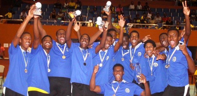 Barbados captured their second consecutive Caribbean Junior Volleyball Championship title when they defeated Trinidad and Tobago in straight sets. (Pictures by Morissa Lindsay)
