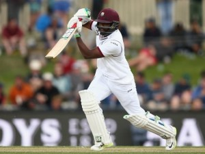 Darren Bravo's unbeaten 94 rescued West Indies from a perilous position.