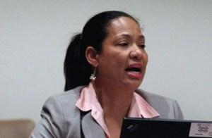 Ena Harvey, IICA Representative in Barbados.