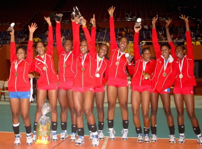 Haiti girls won their first ever Caribbean Junior Volleyball title.