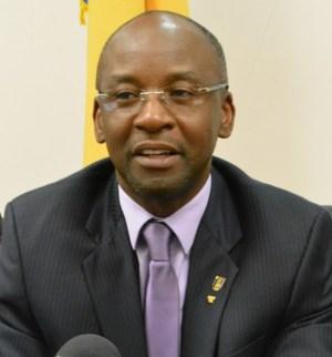 Minister of Sports Stephen Lashley