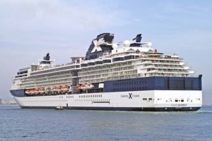 The tourists had arrived in Tortola on the Celebrity Summit cruise ship.