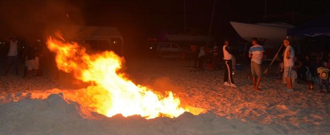 01-01-16 It was a joy -beach fire- Photo 4,B