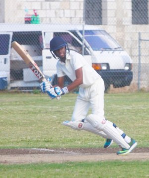 Baggio Worrell scored 44 for Wow Display Fusionz Boutique Juniors today. (Pictures by Morissa Lindsay)