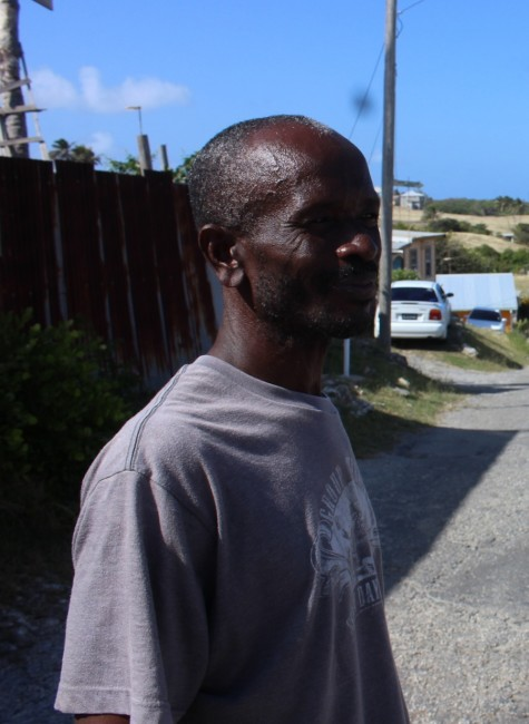 Resident Euclid Greaves says the water problem in St Peter has been going on for too long.
